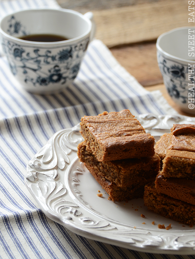 Maple Cinnamon Peanut Butter Blondies 3