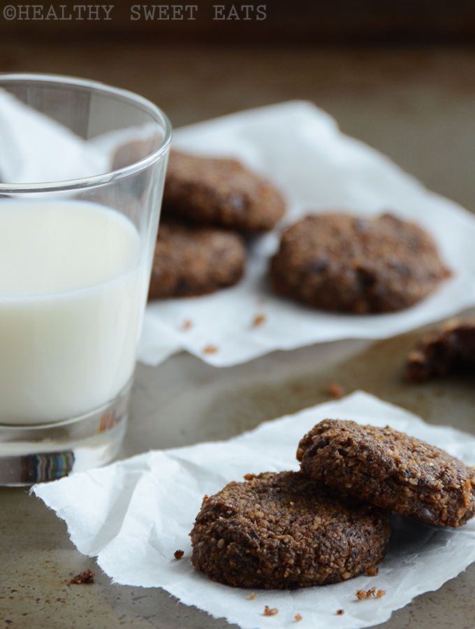 Soft Hazelnut Mocha Cookies