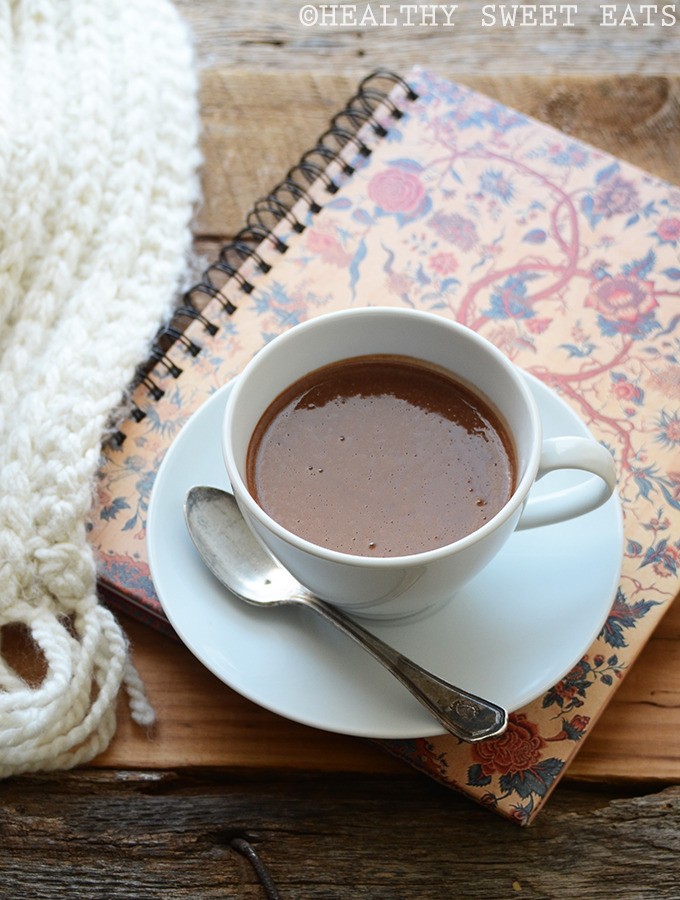 Protein-Packed Thick and Creamy Hot Chocolate