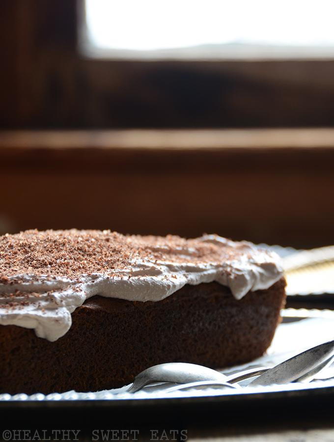 Mocha Coconut Flax Cake with Mocha Coconut Frosting 4