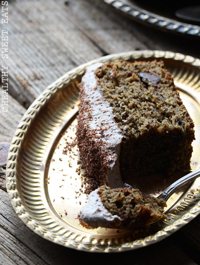 Mocha Coconut Flax Cake with Mocha Coconut Frosting 5