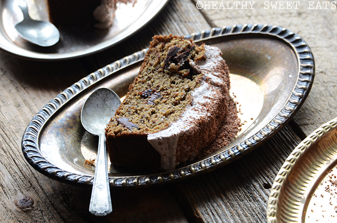 Mocha Coconut Flax Cake with Mocha Coconut Frosting 6