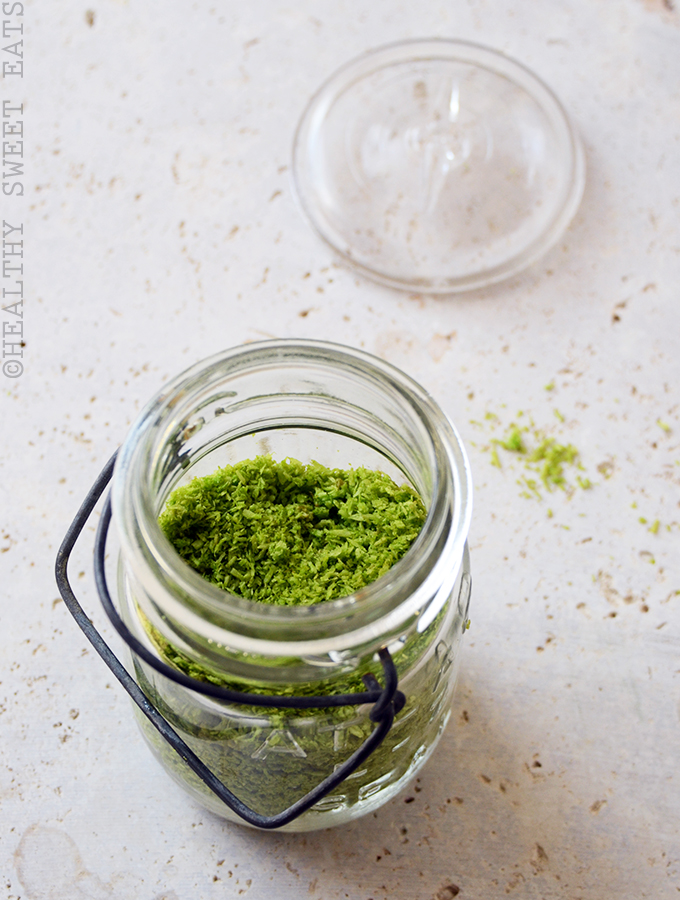 How to Naturally Dye Shredded Coconut Green 2