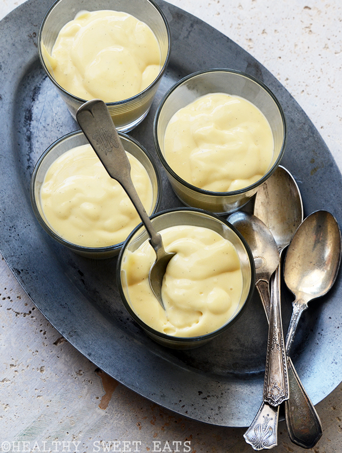 Lemon Vanilla Bean Custard 2