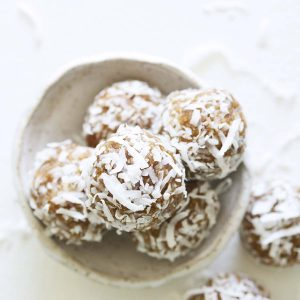 Coconut Date Balls Featured Image