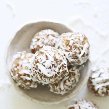 Coconut Date Balls Recipe