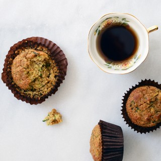 Almond-Scented Zucchini Muffins