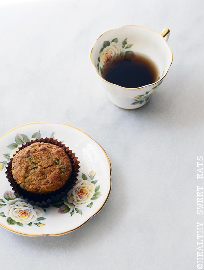 Almond-Scented Zucchini Muffins 2