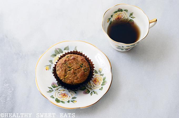 Almond-Scented Zucchini Muffins 4
