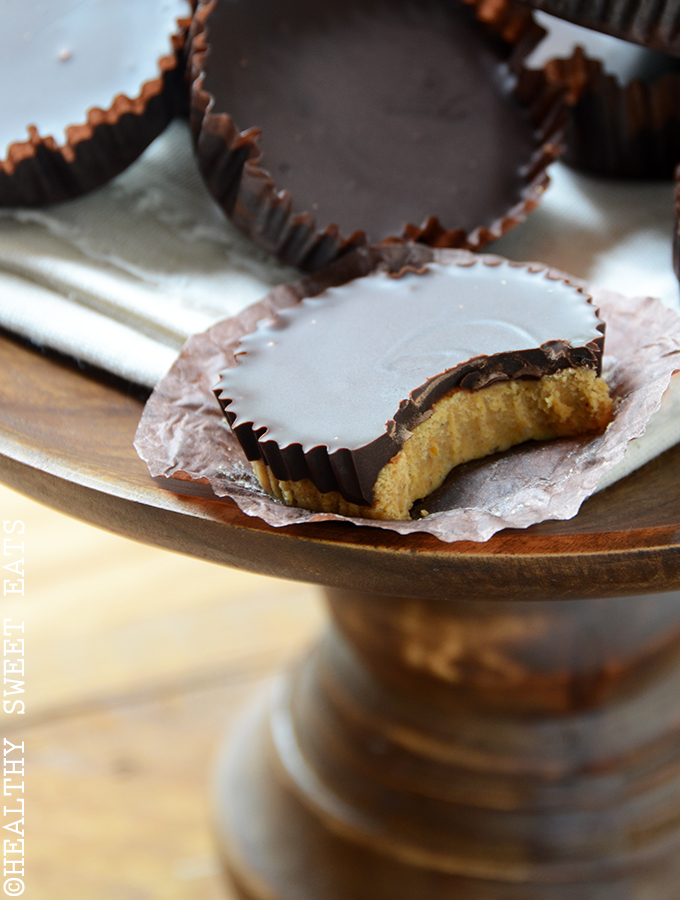 Dark Chocolate-Coated Pumpkin Spice Candy Cups 5