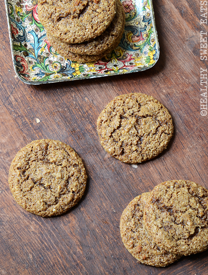 Chewy Molasses Gingerbread Cookies 3