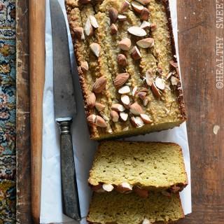 Avocado Almond Pound Cake