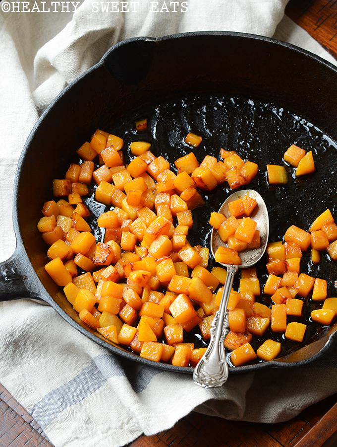 Caramelized Butternut Squash with Cacao Butter and Coconut 2
