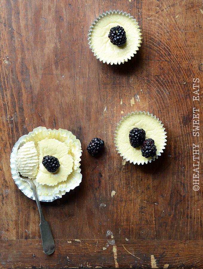 5-Ingredient Low-Carb Mini Cheesecakes 1
