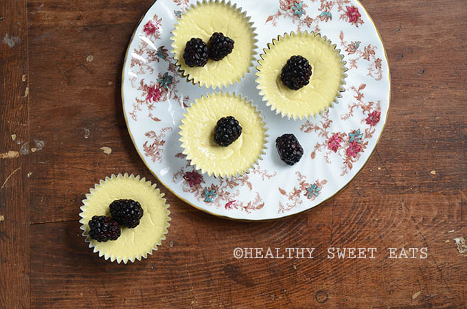 5-Ingredient Low-Carb Mini Cheesecakes 4