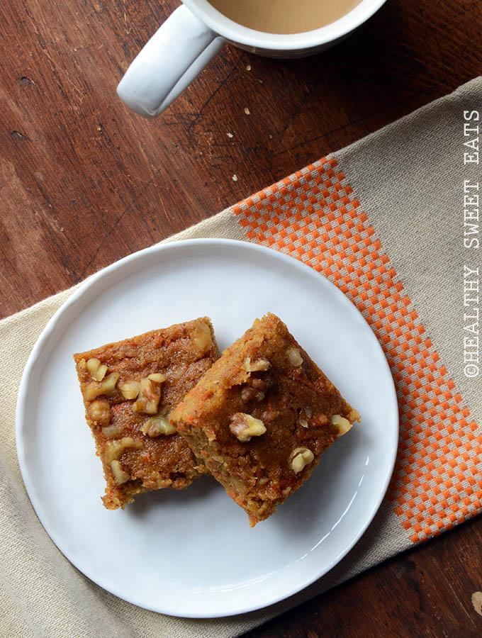 Carrot Cake Snack Cake 1
