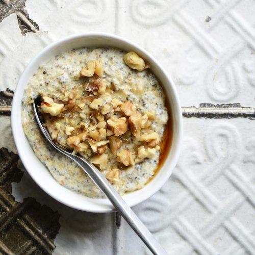 My Favorite Noatmeal (aka Low Carb Oatmeal)