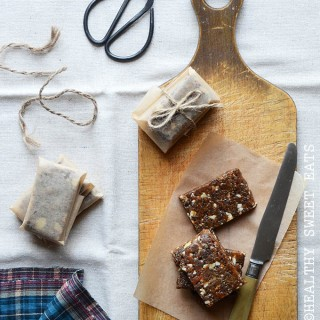 Pick-Me-Up Chewy Apricot-Almond Bars