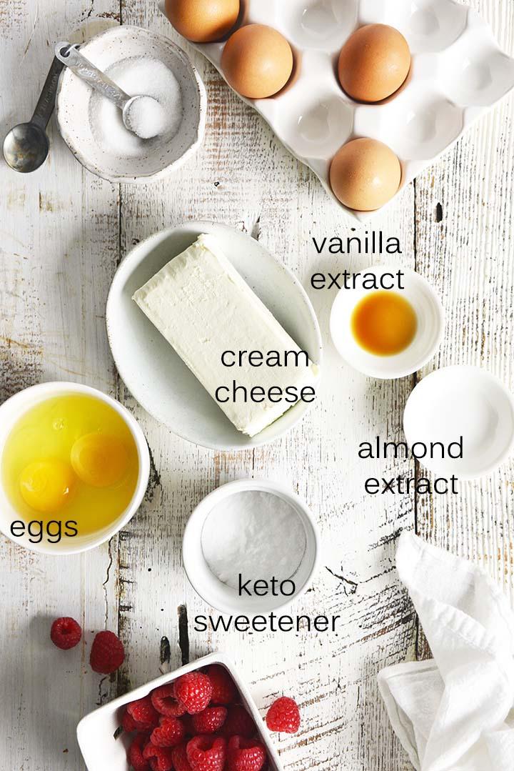 low carb cheesecake ingredients