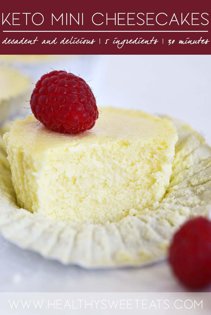 mini cheesecakes graphic