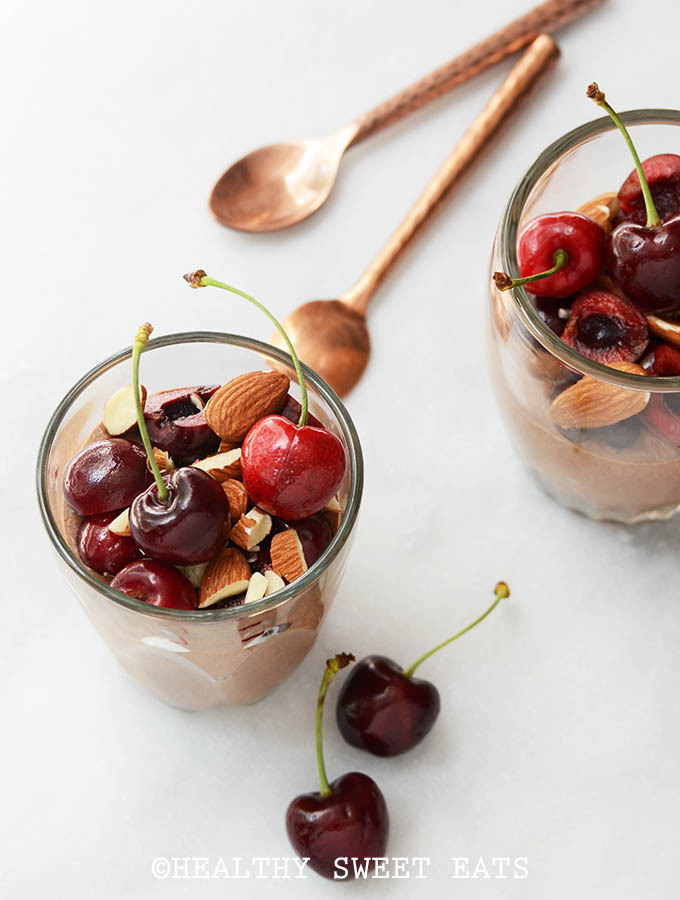 Low-Carb Overnight Black Forest Mocha Chia Seed Pudding 2