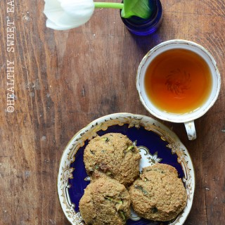Soft and Chewy Spiced Zucchini Cookies 1