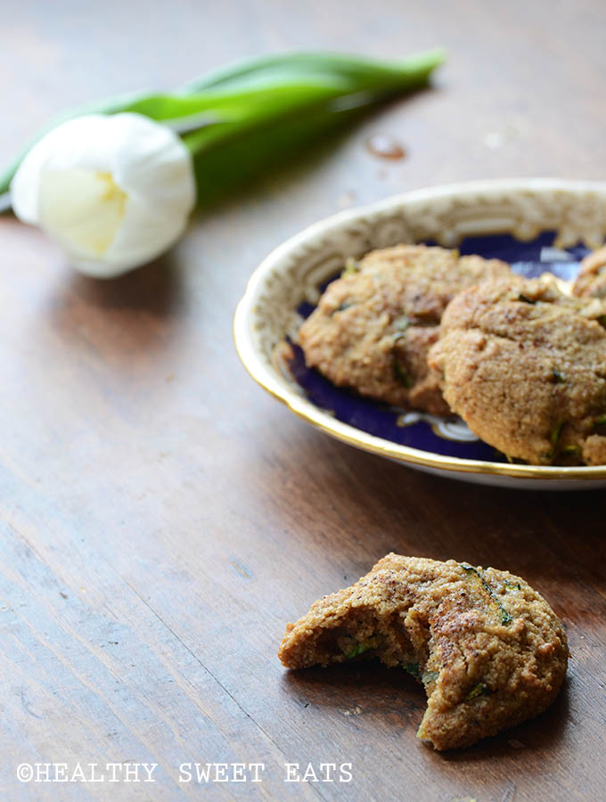 Soft and Chewy Spiced Zucchini Cookies 2