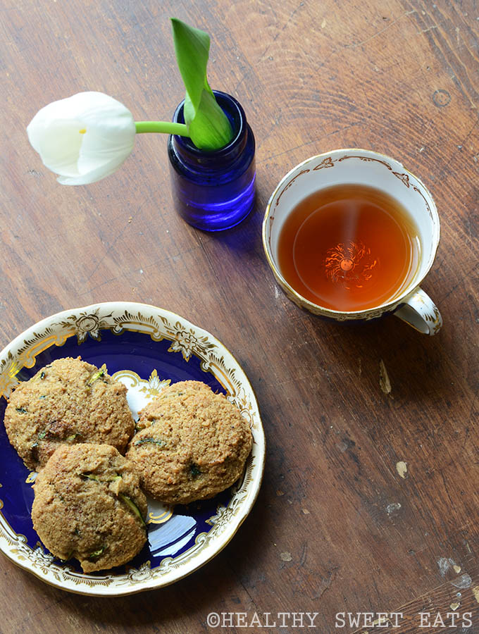 Soft and Chewy Spiced Zucchini Cookies 3