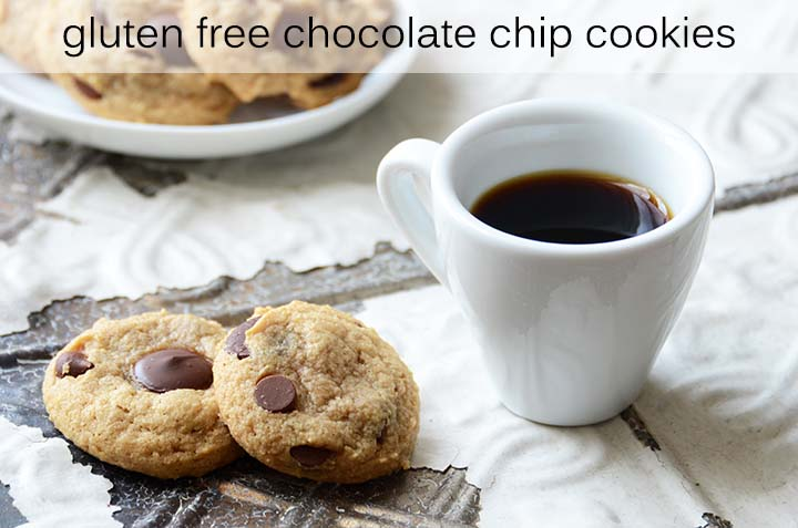Gluten Free Chocolate Chip Cookies with Description