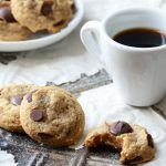 gluten free chocolate chip cookies featured image