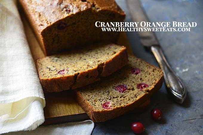 Cranberry Orange Bread with Description