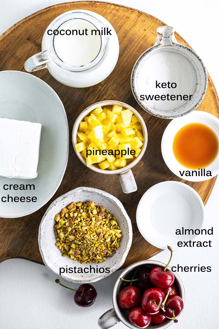 Keto Watergate Salad Recipe Ingredients