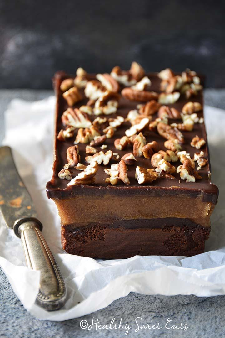 Whole Flourless Chocolate Cake