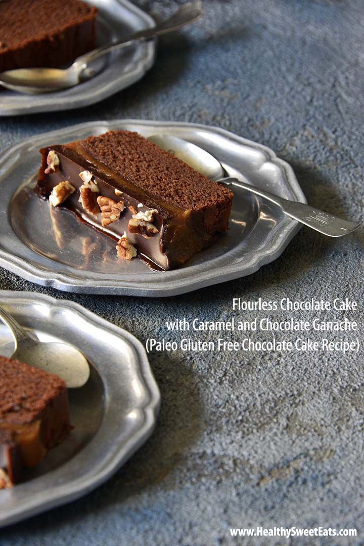 Flourless Chocolate Cake with Description