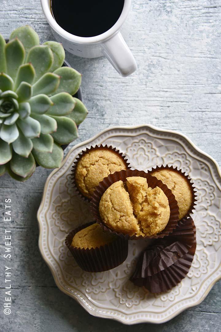 Low Carb Easy Pancake Muffin Recipe (Gluten Free, Keto)