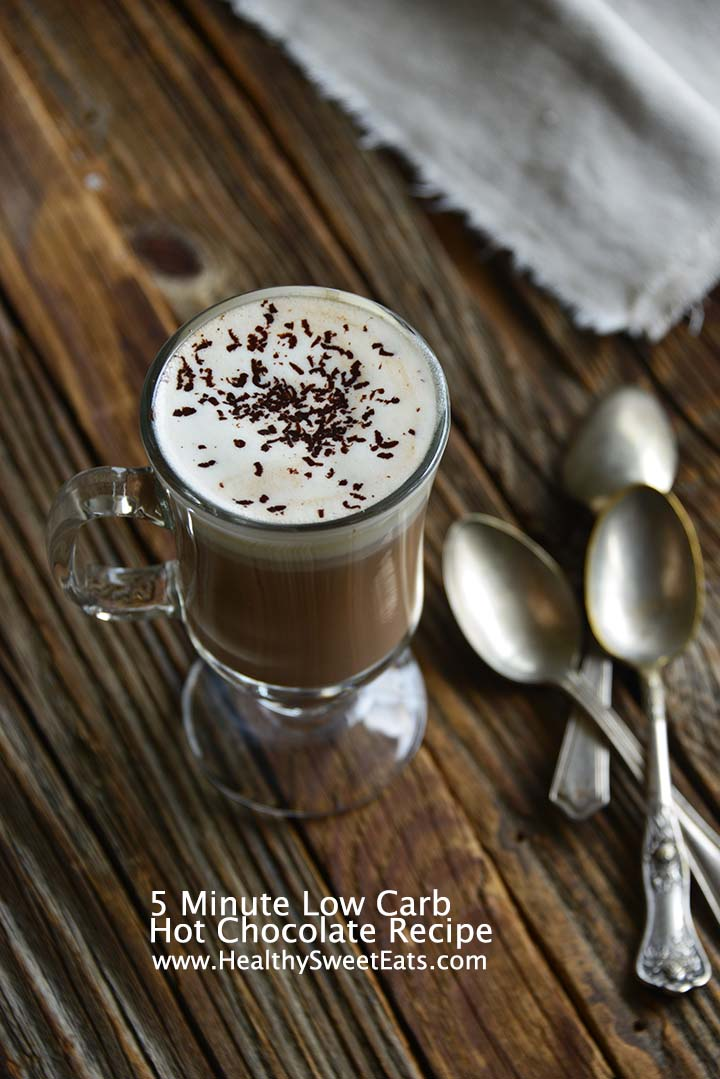 5 Minute Low Carb Hot Chocolate Recipe with Description
