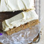keto carrot cake featured image