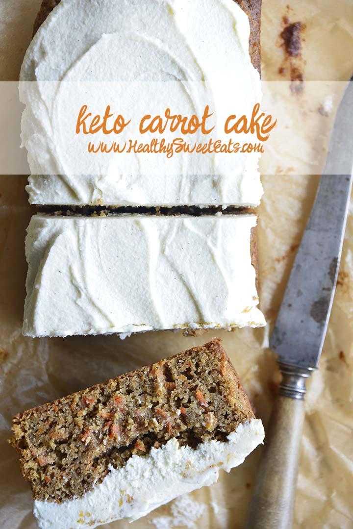 Keto Carrot Cake Pin