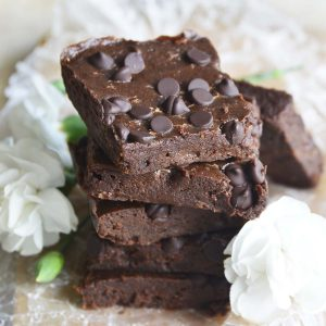 Almond Butter Brownies Featured Image