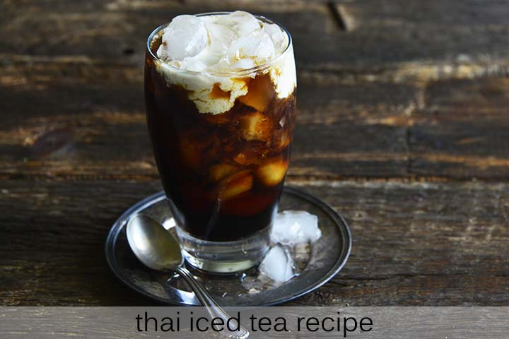 Thai Iced Tea Recipe with Description