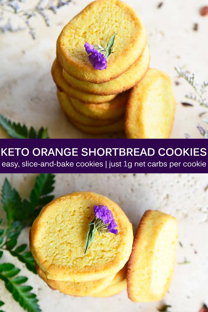 Keto Shortbread Cookies Pin