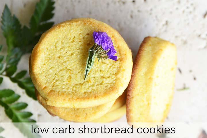 Low Carb Shortbread Cookies with Description