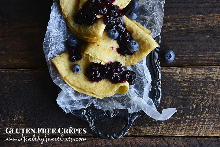 Gluten Free Crepes with Description