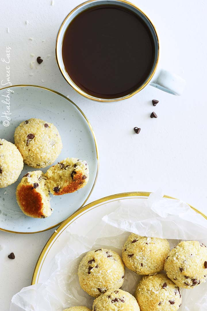 Coconut Cookies with Coffee