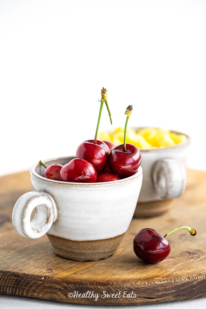 Cherries and Pineapple for Watergate Salad