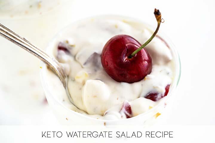 Easy Keto Watergate Salad Recipe with Description