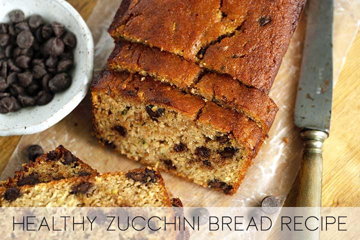 grain free zucchini bread recipe with description