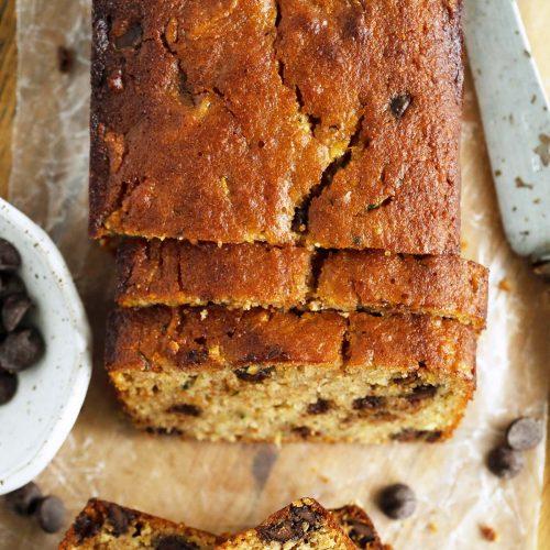 Healthy Keto Zucchini Bread